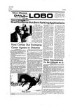 New Mexico Daily Lobo, Volume 080, No 2, 8/23/1976 by University of New Mexico