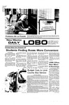 New Mexico Daily Lobo, Volume 080, No 10, 9/2/1976 by University of New Mexico