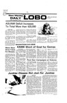 New Mexico Daily Lobo, Volume 080, No 20, 9/17/1976 by University of New Mexico