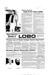 New Mexico Daily Lobo, Volume 080, No 21, 9/20/1976 by University of New Mexico
