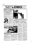 New Mexico Daily Lobo, Volume 080, No 28, 9/29/1976 by University of New Mexico