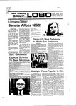 New Mexico Daily Lobo, Volume 080, No 31, 10/4/1976 by University of New Mexico