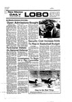 New Mexico Daily Lobo, Volume 080, No 34, 10/7/1976 by University of New Mexico