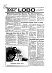 New Mexico Daily Lobo, Volume 080, No 38, 10/13/1976 by University of New Mexico