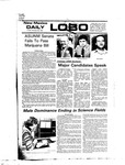 New Mexico Daily Lobo, Volume 080, No 45, 10/22/1976 by University of New Mexico