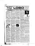 New Mexico Daily Lobo, Volume 080, No 46, 10/25/1976 by University of New Mexico