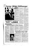 New Mexico Daily Lobo, Volume 080, No 53, 11/3/1976 by University of New Mexico