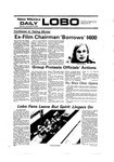 New Mexico Daily Lobo, Volume 080, No 61, 11/15/1976