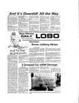 New Mexico Daily Lobo, Volume 080, No 67, 11/23/1976