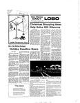 New Mexico Daily Lobo, Volume 080, No 71, 12/1/1976 by University of New Mexico