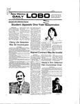 New Mexico Daily Lobo, Volume 080, No 73, 12/3/1976 by University of New Mexico