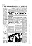 New Mexico Daily Lobo, Volume 080, No 74, 1/10/1977 by University of New Mexico