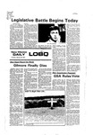 New Mexico Daily Lobo, Volume 080, No 76, 1/18/1977 by University of New Mexico