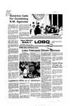 New Mexico Daily Lobo, Volume 080, No 77, 1/19/1977 by University of New Mexico