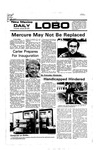 New Mexico Daily Lobo, Volume 080, No 78, 1/20/1977 by University of New Mexico