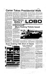 New Mexico Daily Lobo, Volume 080, No 79, 1/21/1977 by University of New Mexico