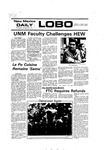 New Mexico Daily Lobo, Volume 080, No 83, 1/27/1977 by University of New Mexico