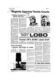 New Mexico Daily Lobo, Volume 080, No 98, 2/17/1977 by University of New Mexico
