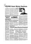 New Mexico Daily Lobo, Volume 080, No 101, 2/22/1977 by University of New Mexico