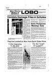 New Mexico Daily Lobo, Volume 080, No 105, 2/28/1977 by University of New Mexico