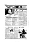 New Mexico Daily Lobo, Volume 080, No 107, 3/2/1977 by University of New Mexico
