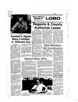 New Mexico Daily Lobo, Volume 080, No 109, 3/4/1977