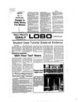 New Mexico Daily Lobo, Volume 080, No 111, 3/8/1977 by University of New Mexico