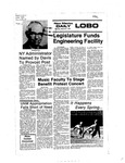 New Mexico Daily Lobo, Volume 080, No 115, 3/21/1977 by University of New Mexico