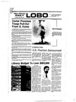 New Mexico Daily Lobo, Volume 080, No 116, 3/22/1977 by University of New Mexico