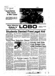 New Mexico Daily Lobo, Volume 080, No 124, 4/1/1977 by University of New Mexico