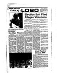 New Mexico Daily Lobo, Volume 080, No 135, 4/18/1977 by University of New Mexico