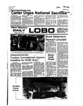 New Mexico Daily Lobo, Volume 080, No 136, 4/19/1977 by University of New Mexico