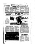 New Mexico Daily Lobo, Volume 080, No 139, 4/22/1977 by University of New Mexico