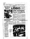 New Mexico Daily Lobo, Volume 080, No 142, 4/27/1977 by University of New Mexico