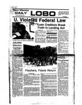 New Mexico Daily Lobo, Volume 080, No 144, 4/29/1977 by University of New Mexico