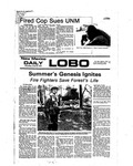 New Mexico Daily Lobo, Volume 080, No 147, 6/23/1977 by University of New Mexico
