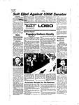 New Mexico Daily Lobo, Volume 081, No 7, 8/29/1977