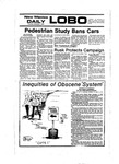 New Mexico Daily Lobo, Volume 081, No 10, 9/1/1977 by University of New Mexico