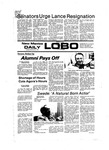 New Mexico Daily Lobo, Volume 081, No 12, 9/6/1977