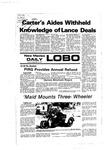 New Mexico Daily Lobo, Volume 081, No 17, 9/13/1977 by University of New Mexico