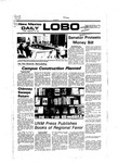New Mexico Daily Lobo, Volume 081, No 20, 9/16/1977 by University of New Mexico