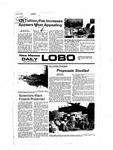 New Mexico Daily Lobo, Volume 081, No 22, 9/20/1977 by University of New Mexico