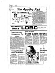 New Mexico Daily Lobo, Volume 081, No 23, 9/21/1977 by University of New Mexico