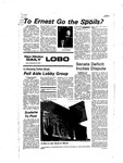 New Mexico Daily Lobo, Volume 081, No 25, 9/23/1977 by University of New Mexico