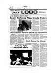 New Mexico Daily Lobo, Volume 081, No 27, 9/27/1977