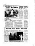 New Mexico Daily Lobo, Volume 081, No 35, 10/7/1977