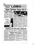 New Mexico Daily Lobo, Volume 081, No 36, 10/10/1977