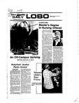 New Mexico Daily Lobo, Volume 081, No 38, 10/12/1977