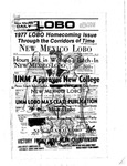 New Mexico Daily Lobo, Volume 081, No 40, 10/14/1977