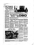 New Mexico Daily Lobo, Volume 081, No 41, 10/17/1977